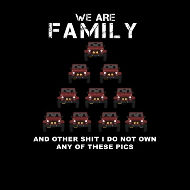 We Are Family-Jeep Lover - Men's Premium T-Shirt