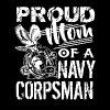 Navy Corpsman Mom Shirt - Men's Premium T-Shirt