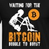 Bitcoin Bubble - Men's Premium T-Shirt