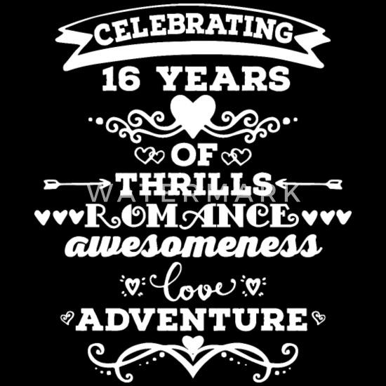 16th Wedding Anniversary.16th Wedding Anniversary Matching Couples Men S Premium T Shirt