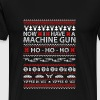 Machine gun owner - Ugly Christmas Sweater - Men's Premium T-Shirt