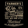 Farmer Wife Shirt - Men's Premium T-Shirt