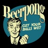 Beer Pong Get your Balls Wet - Men's Premium T-Shirt