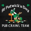 St. Patrick's Day Pub Crawl Team Dark - Men's Premium T-Shirt