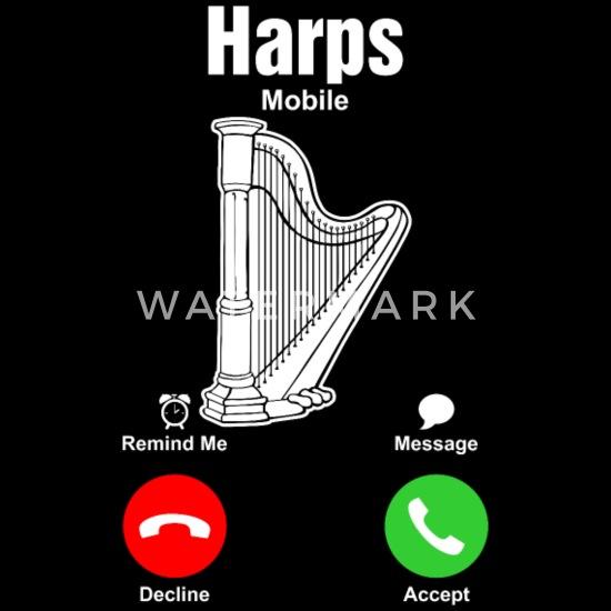 Harps Mobile Tshirt Men's Premium T-Shirt - black