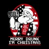 Gift for Drunk - Merry Drunk, I'm Christmas - Men's Premium T-Shirt