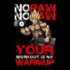 super saiyan no pain your workout is my warmup - Men's Premium T-Shirt