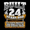 24th birthday gift idea: Built 24 years ago Shirt - Men's Premium T-Shirt