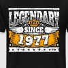 Legend Birthday: Legendary since 1977 birth year - Men's Premium T-Shirt