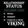 relationship single married taken by a crazy vikin - Men's Premium T-Shirt