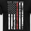 THIN RED LINE FLAG FIREFIGHTER FIRE DEPARTMENT - Men's Premium T-Shirt