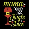mama needs her jingle juice - Men's Premium T-Shirt