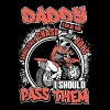 Daddy told me should not chase boys i should pass - Men's Premium T-Shirt