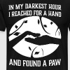 in my darkest hour i reached for a hand and found - Men's Premium T-Shirt