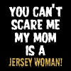 You can t scare me my mom is a redhead jersey woma - Men's Premium T-Shirt