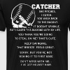 Catcher she pitches i catch you walk back to the d - Men's Premium T-Shirt