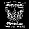 Two things last forever my tattoos the love i have - Men's Premium T-Shirt