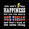 You can't buy happiness but you can marry norwegia - Men's Premium T-Shirt