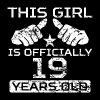 This Girl Is Officially 19 Years Old - Men's Premium T-Shirt