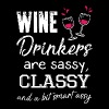 Wine drinkers are sassy classy and a bit smart ass - Men's Premium T-Shirt