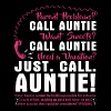 parent problems call auntie want sweets call aunti - Men's Premium T-Shirt