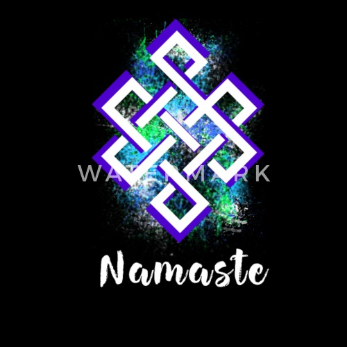 Yoga Namaste Symbol Shanti Karma Om Buddha By Original Star