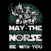 May The Norse Be With You Valhalla Viking - Men's Premium T-Shirt