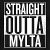 straight outta mylta-pubg - Men's Premium T-Shirt
