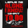 F1 Kimi Raikkonen - He know what he is doing - Men's Premium T-Shirt