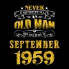 An Old Man Who Was Born In September 1959 - Men's Premium T-Shirt