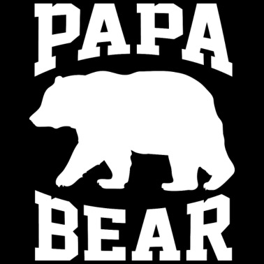 Papa Bear for Father Day - Men's Premium T-Shirt