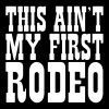 this aint my first rodeo - Men's Premium T-Shirt