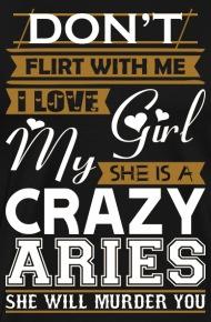 How does an aries man flirt