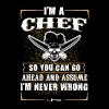 I'm a Chef T-Shirts - Men's Premium T-Shirt