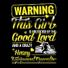 Warning Heavy Equipment Operator T-Shirts - Men's Premium T-Shirt