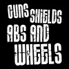 Guns, Shields, Abs, and Wheels - Men's Premium T-Shirt