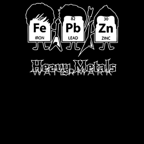 Heavy metals periodic table science by sagitashop spreadshirt urtaz Images