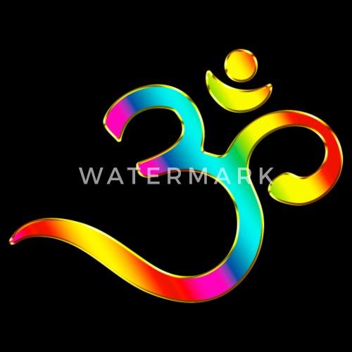 Om Symbol Rainbow Buddhism Mantra Meditation By Yuma Spreadshirt