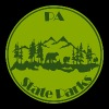 PA State Parks Bear Green - Men's Premium T-Shirt