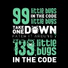 99 Little Bugs In Code - Men's Premium T-Shirt