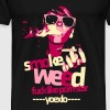 Young Extreme Love. Smoke Weed, Fuck Like Pornstar - Men's Premium T-Shirt