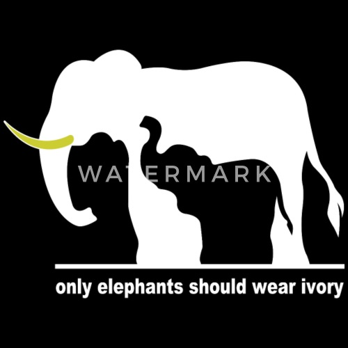 only elephants should wear ivory by cahyonori spreadshirt