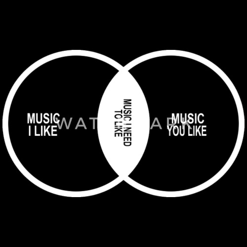 Music Elitism Venn Diagram Musician Indie Snob Roc By Nurmalasiti866