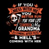If you mess with me you better run - Men's Premium T-Shirt