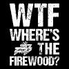 WTF where's the firewood - Men's Premium T-Shirt
