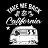 Take me back to california - Men's Premium T-Shirt