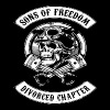 SONS OF FREEDOM DIVORCED CHAPTER T-SHIRTS - Men's Premium T-Shirt