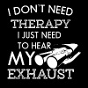 Just need to hear my exhaust - Men's Premium T-Shirt