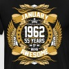 January 1962 55 Years Of Being Awesome - Men's Premium T-Shirt