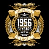 November 1956 61 Years Of Being Awesome - Men's Premium T-Shirt